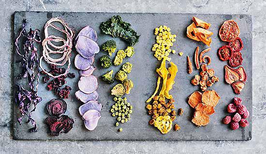 خشک کردن میوه و سبزی