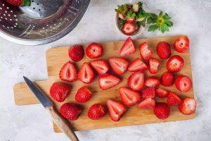 روش خشک کردن توت فرنگی